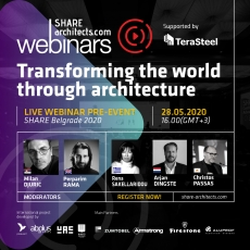 SHARE Architects launches the new program of live webinars in May